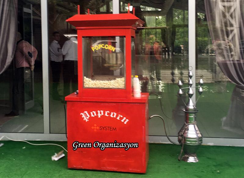 pimaksan popcorn arabası