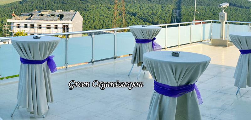 düğün merasimi kokteyl masası