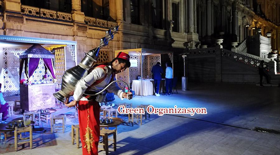 osmanlı şerbetçisi kiralama organizasyonu