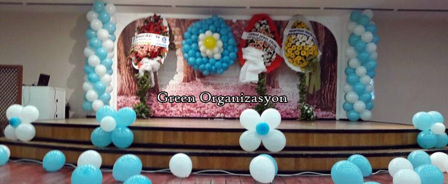 zincir balon süsleme organizasyonları