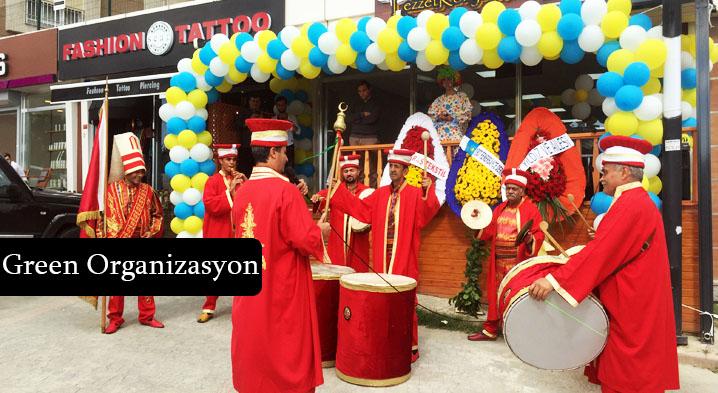 açılış organizasyonu balon süsleme mehter takımı