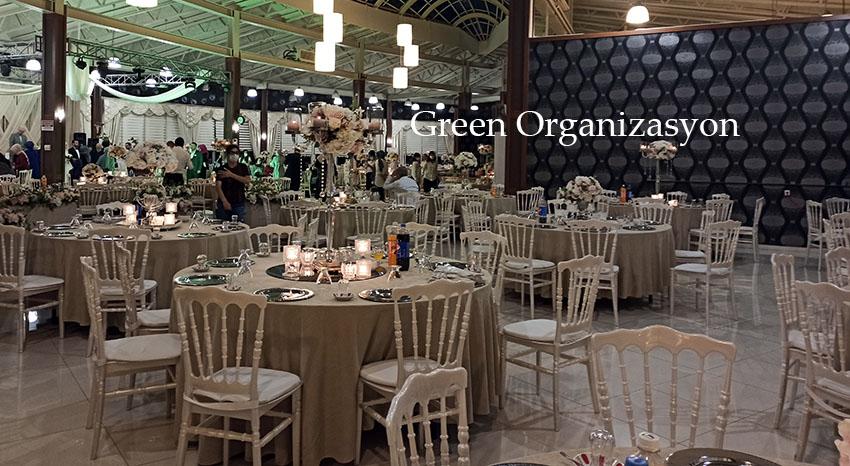 düğün davet salonu süsleme