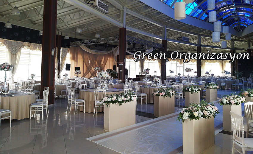düğün salonu süsleme